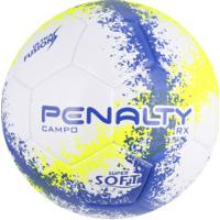 20eaf80db6 Bola De Futebol De Campo Penalty Rx R3 N4 Fusion - Branco Azul