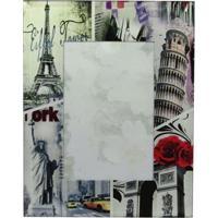 Porta Retrato Groove Paris Cinza