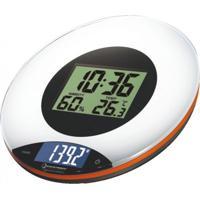 Balança Digital De Cozinha Incoterm Multifunção Branco/Preto