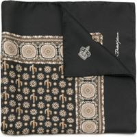 Dolce & Gabbana Lenço De Seda Estampado