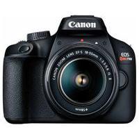 "Câmera Digital Canon Eos Rebel T100 Dslr Com 18 Mp, 3"", Gravação Em Full Hd - T100 Ef-S 18-55Mm Is Iii"