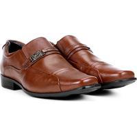 0486ed424e ... Sapato Social Couro Mariner Masculino - Masculino-Marrom