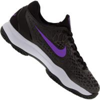 Tênis Nike Zoom Cage 3 Hc Slk - Masculino - Preto/Cinza