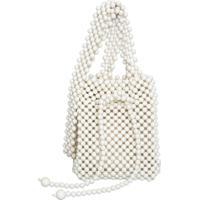 Bolsa Milao Le Diamond Off White - Off-White - Feminino - Dafiti
