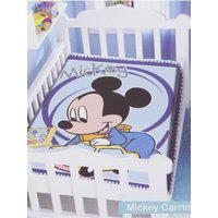 Cobertor Disney Jolitex Para Bebê Azul Marinho