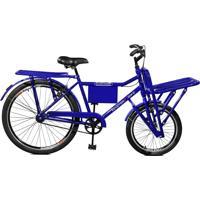 Bicicleta Aro 26 F/ Super Cargo Azul