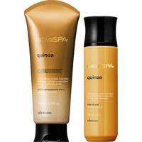 Combo Nativa Spa Quinoa: Body Splash + Loção Firmadora Corporal