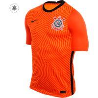 Camisa De Goleiro Nike Corinthians 2020/21 Jogador Masculina
