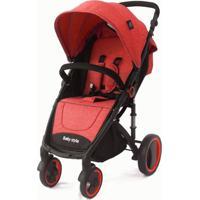 Carrinho Bebê Victory 6 Meses A 3 Anos 15 Kg Baby Style Vermelho
