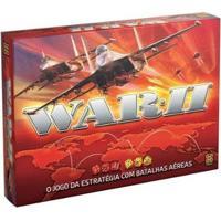 Jogo War Ii Tabuleiro O Jogo Da Estratégia Com Batalhas Aéreas - Unissex-Vermelho
