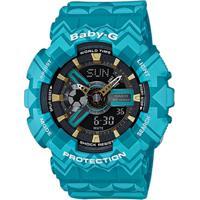 Relógio Casio Baby-G Ba-110Tp-2Adr - Unissex-Azul