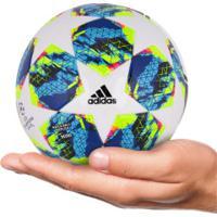 Minibola De Futebol De Campo Adidas Finale 19 - Branco/Azul Cla