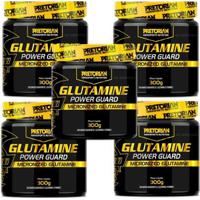 Kit 5X Glutamina Com Vitamina C 300G Pretorian - Unissex