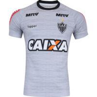 Camisa De Treino Do Atlético-Mg 2017 Topper - Masculina - Cinza