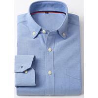 289576cff38 Camisa Social Masculina Nashville - Azul Escuro