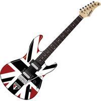 Guitarra Elétrica Strato Gtu-1 São Paulo Com 2 Captadores Humbucker E Ponte Tremolo - Waldman