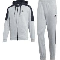 Agasalho Adidas Mts Co Energize Cinza - Cinza - Masculino - Dafiti