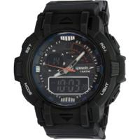 Relógio Digital Analógico Speedo 11014G0Ev - Masculino - Preto
