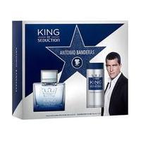 Kit Perfume King Of Seduction Masculino Eau De Toilette 100Ml + Desodorante 150Ml