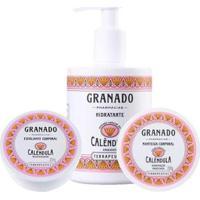 Kit Esfoliante + Hidratante Granado Calêndula + Manteiga Corporal - Unissex-Incolor