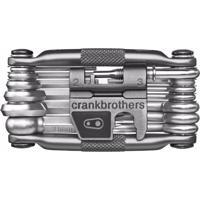 Kit Ferramentas Crank Brothers Multi 19 Funções Prata