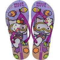 d9c08e1b8 Di Santinni; Chinelo Hello Kitty Fashion Grendene Kids 62758017