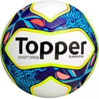 746845b405664 Netshoes  Bola Society Topper Samba - Unissex