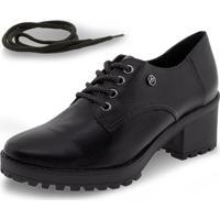 Sapato Feminino Oxford Via Marte - 195806 Preto 34