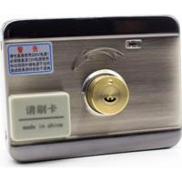Fechadura Eletrônica Inox Dupla Interna Cartão + Chaves