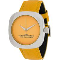 Marc Jacobs Watches Relógio The Cushion - Amarelo