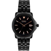 Relógio Vivara Feminino Aço Preto - Ds14160R0B-1