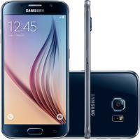 Usado Smartphone Samsung Galaxy S6 32Gb Ct Preto (Excelente)