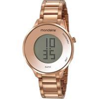 Relógio Mondaine Feminino Digital - Feminino-Rosê