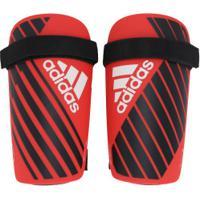 Caneleira De Futebol Adidas X Lite - Adulto - Vermelho/Preto