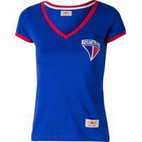 e3a1c9e0b79d5 Netshoes  Camisa Baby Look Retrô Gol Fortaleza Torcedor - Feminino