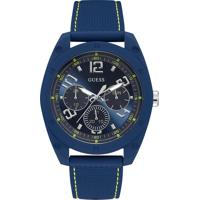 Relógio Guess Masculino Borracha Azul - W1256G3