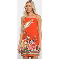 Vestido Farm Curto Oriente - Feminino-Estampado