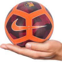 Minibola De Futebol De Campo Barcelona Nike Skills - Vinho Laranja b1c12db2b5400