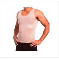 Kit Com 05 Cintas Redutora Masculina E Postural Slim Fitness Creme