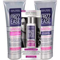 Kit Shampoo + Condicionador + Primer John Frieda Frizz Ease Beyond Smooth Frizz Immunity Kit - Unissex