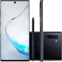 "Smartphone Samsung Galaxy Note 10 Preto 256Gb 8Gb Ram Tela De 6,4"" Câ"