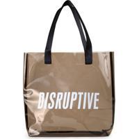 Bolsa Amaro Active Disruptive Cafe - Marrom - Feminino - Dafiti