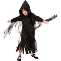 Fantasia De Halloween Assombração Maligna Infantil Masculina