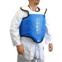 Protetor De Tórax Jugui Oficial Para Taekwondo Azul