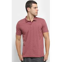 Camisa Polo Burn Basic Masculina - Masculino-Bordô