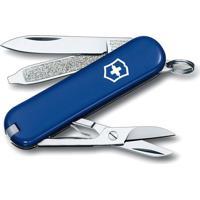Canivete Classic Sd- Inox & Azul Escuro- 5,8Cm- Victorinox