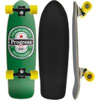 Skate Montado Cruiser Tail Progress - Pgs - Cerveja - Unissex