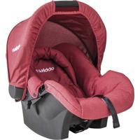 Bebê Conforto - Nest - Melange - Kiddo - Feminino-Vermelho