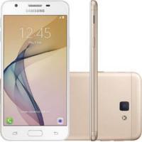 Smartphone Samsung Galaxy J5 Prime Dourado G570M Dual Chip 32Gb Tela