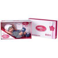 Boneca Reborn Anny Doll Baby Cotiplás Menino Marinho 2501